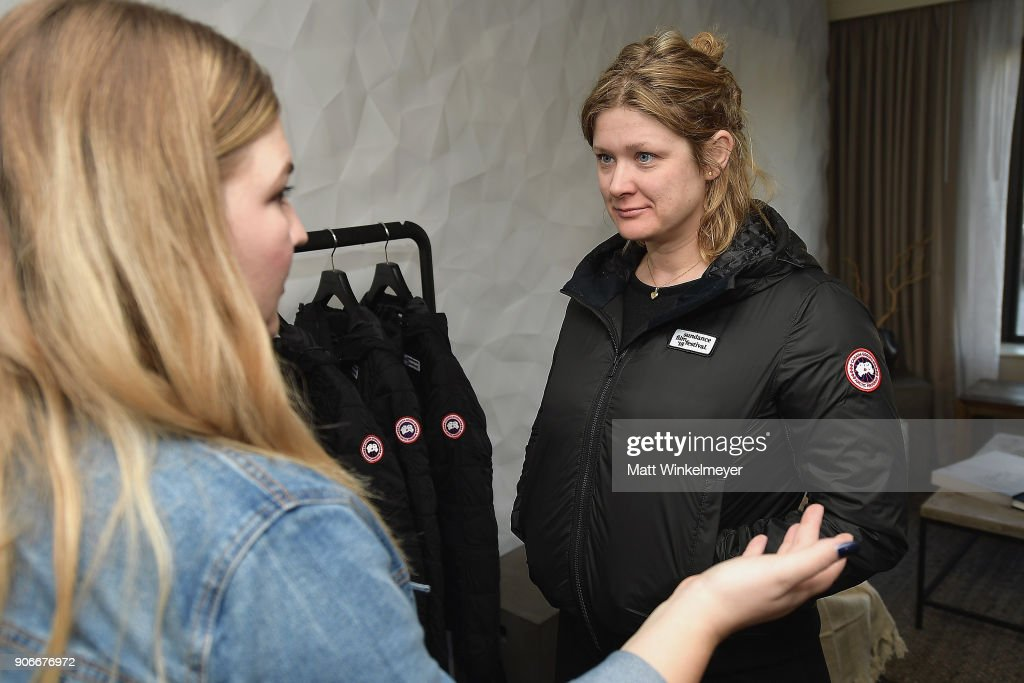 Canada Goose at the 2018 Sundance Film Festival - Director Suite