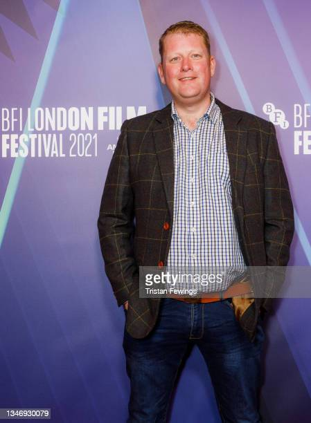 """Director and screenwriter Martyn Robertson attends the """"Ride The Wave"""" UK Premiere during the 65th BFI London Film Festival at the BFI Southbank on..."""