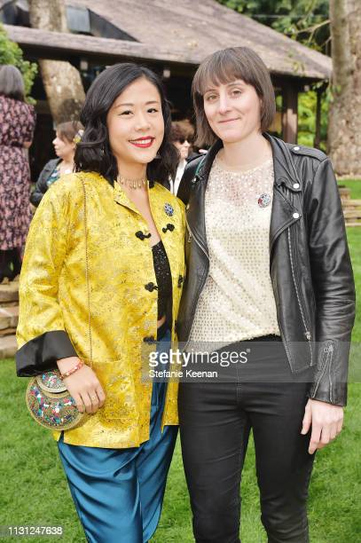 Director and Storyboard Artist Domee Shi and Director Louise Bagnall attend Diane von Furstenberg with The Academy Museum Celebrates Female Oscars...