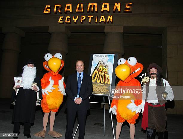 Director and Writer for Flock of Dodos Randy Olson and the cast attend the the Flock Of Dodos screening at the Egyptian Theatre February 6 2007 in...