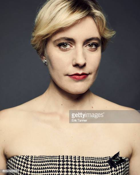 Director and writer Greta Gerwig of 'Lady Bird' poses for a portrait at the 55th New York Film Festival on October 5 2017