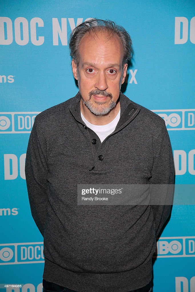 Director and writer of 'Hitchcock/Truffaut', Kent Jones attends the DOC NYC Screening Of 'Hitchcock/Truffaut' at Chelsea Bow Tie Cinemas on November 14, 2015 in New York City.