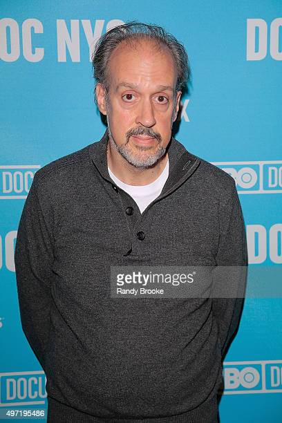 Director and writer of the film Kent Jones attends the DOC NYC Screening Of 'Hitchcock/Truffaut' at Chelsea Bow Tie Cinemas on November 14 2015 in...