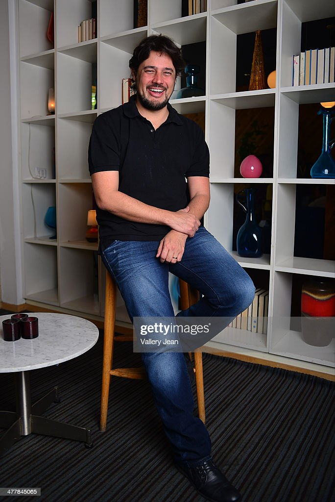 Director and writer Rene Sampaio poses for a portrait session promoting his new film 'Brazilian Western' during the Miami International Film Festival 2014 at The Standard on March 10, 2014 in Miami Beach, Florida.