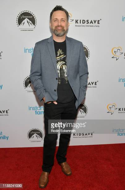 Director and writer Sean Anderson attends Paramount Pictures Hosts Kidsave's Weekend Miracles Event to coincide with Instant Family home...