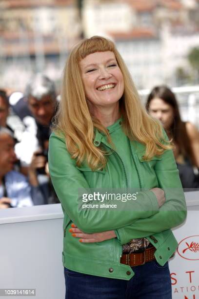 Director Andrea Arnold attends the photocall of 'American Honey' during the 69th Annual Cannes Film Festival at Palais des Festivals in Cannes France...
