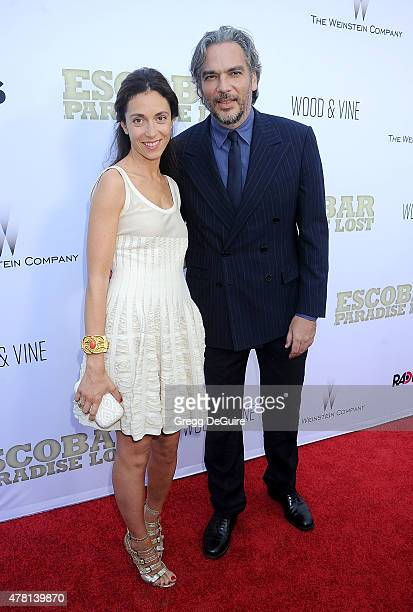Director Andrea Di Stefano arrives at the Los Angeles premiere of Escobar Paradise Lost at ArcLight Hollywood on June 22 2015 in Hollywood California
