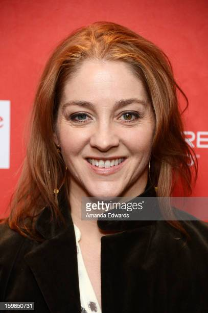 Director Andrea Nix Fine arrives at the 2013 Sundance Film Festival Premiere of Life According To Sam at Temple Theater on January 21 2013 in Park...
