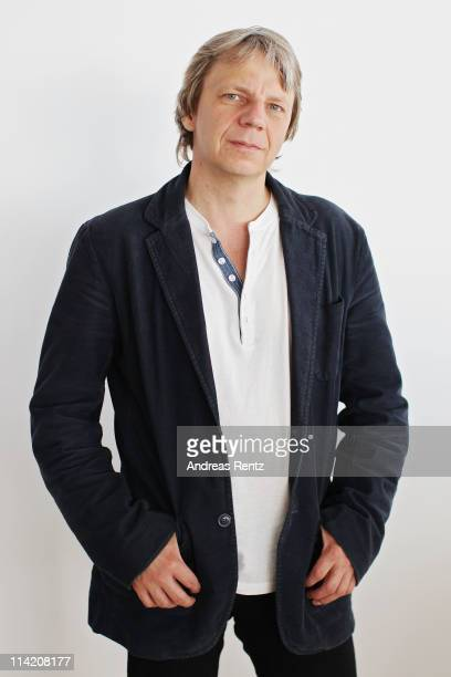 """Director Andreas Dresen poses at a """"Stopped On Track"""" portrait session during the 64th Annual Cannes Film Festival at the Grand Hotel on May 16, 2011..."""
