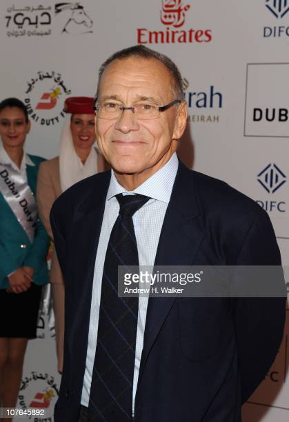 Director Andrei Konchalovsky attends 'The Nutcracker in 3D' premiere during day six of the 7th Annual Dubai International Film Festival held at the...