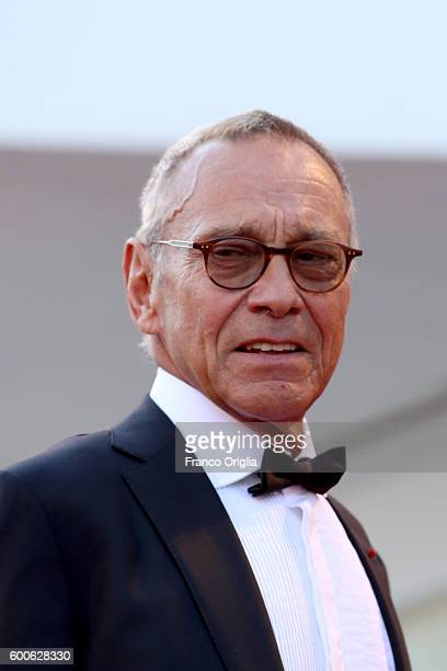 Director Andrei Konchalovsky attends the premiere of 'Paradise' during the 73rd Venice Film Festival at Sala Grande on September 8 2016 in Venice...