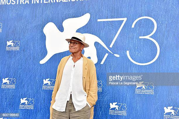 Director Andrej Koncalovskij attends a photocall for 'Paradise' during the 73rd Venice Film Festival at Palazzo del Casino on September 8 2016 in...