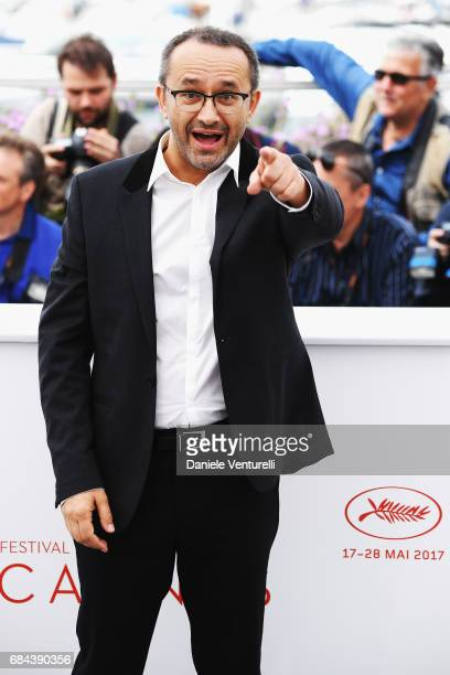 Director Andrej Zvjagincev attends the 'Loveless ' photocall during the 70th annual Cannes Film Festival at Palais des Festivals on May 18 2017 in...