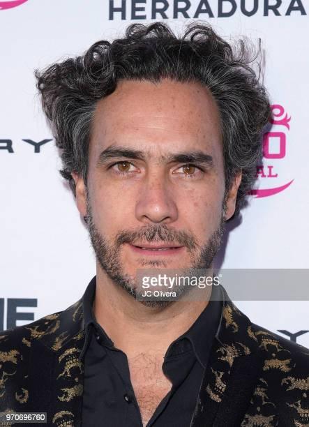 Director Andres Ibanez Diaz Infante attends The HOLA Mexico Film Festival presented by DishLATINO closing night gala at LA Plaza de Cultura y Artes...
