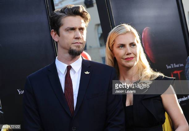 Director Andres Muschietti and Barbara Muschietti attends the premiere of 'It' at TCL Chinese Theatre on September 5 2017 in Hollywood California