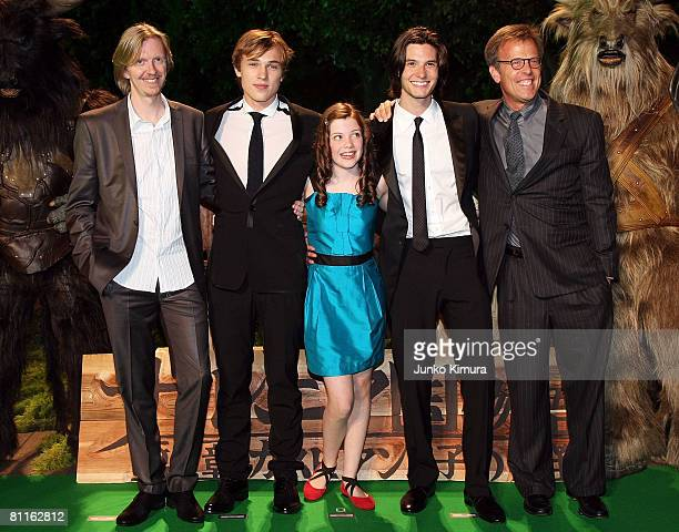 """Director Andrew Adamson, actors William Moseley, Georgie Henley, Ben Barnes and producer Mark Johnson attend """"The Chronicles of Narnia: Prince..."""