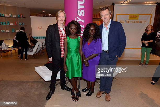 Director Andrew Adamson and actors Healesville Joel Xzannjah Matsi and Hugh Laurie attend Variety Studio presented by Moroccanoil at Holt Renfrew on...