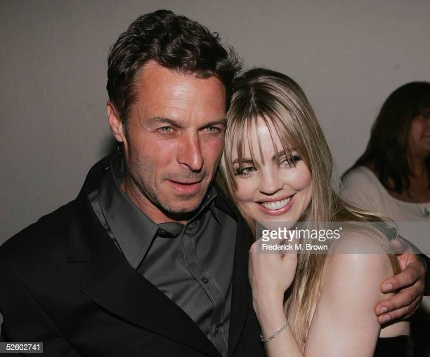 Director Andrew Douglas and actress Melissa George attend the after party for film premiere of The Amityville Horror at the Hollywood Athletic Club...