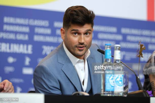 Director Andrew Levitas is seen at the Minamata press conference during the 70th Berlinale International Film Festival Berlin at Grand Hyatt Hotel on...