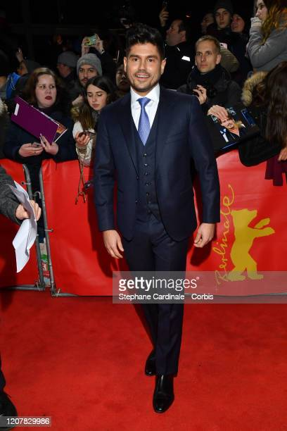 Director Andrew Levitas poses at the Minamata premiere during the 70th Berlinale International Film Festival Berlin at FriedrichstadtPalast on...
