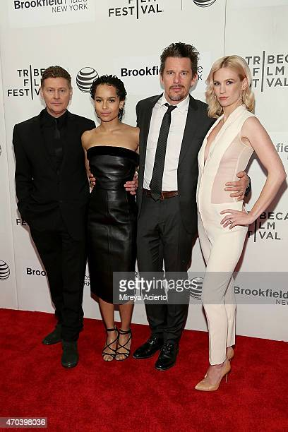 """Director Andrew Niccol and actors Zoe Kravitz, Ethan Hawke and January Jones attend the U.S. Premiere Narrative: """"Good Kill"""" during 2015 Tribeca Film..."""