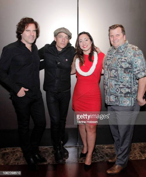 Director Andrew Slater Producer Jakob Dylan Executive Director of the Hawaii International Film Festival Beckie Stocchetti and VP of Marketing Howard...