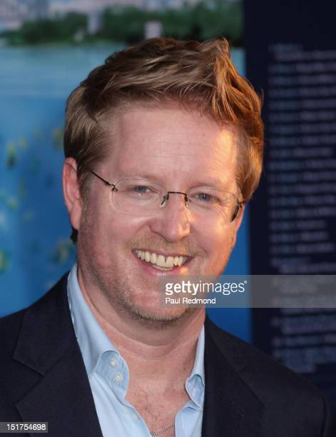 Director Andrew Stanton arrives at Finding Nemo Disney Digital 3D Los Angeles Premiere at the El Capitan Theatre on September 10 2012 in Hollywood...