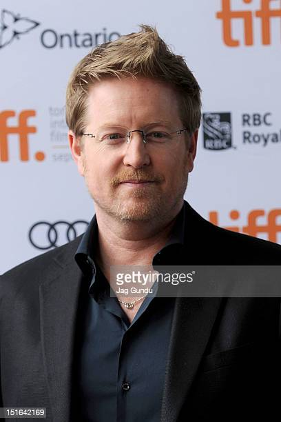 Director Andrew Stanton attends the Finding Nemo 3D premiere during the 2012 Toronto International Film Festival at the Ryerson Theatre on September...