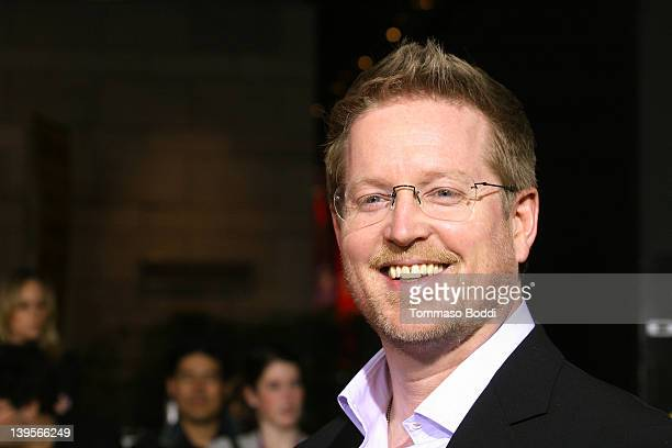 Director Andrew Stanton attends the John Carter Los Angeles premiere held at the Regal Cinemas LA Live on February 22 2012 in Los Angeles California