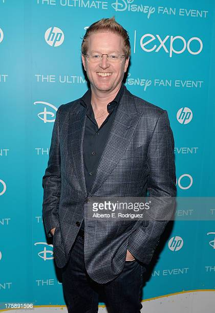 Director Andrew Stanton of Finding Dory attends Art and Imagination Animation at The Walt Disney Studios presentation at Disney's D23 Expo held at...
