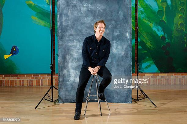 Director Andrew Stanton of 'Finding Dory' is photographed for Los Angeles Times on May 10 2016 in Los Angeles California PUBLISHED IMAGE CREDIT MUST...