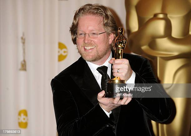 Director Andrew Stanton poses in the 81st Annual Academy Awards press room held at The Kodak Theatre on February 22 2009 in Hollywood California