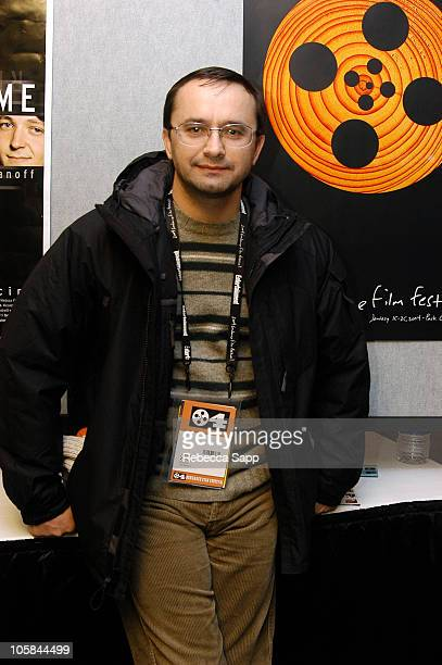 Director Andrey Zvyagintsev during 2004 Sundance Film Festival 'The Return' Premiere at Eqyptian Theatre in Park City Utah United States