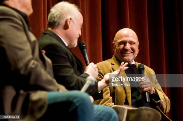 Director Andy Davis attends the Roger Ebert Film Festival at Virginia Theatre on April 18 2018 in Champaign Illinois