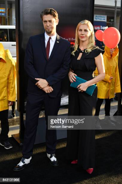 Director Andy Muschietti and Barbara Muschietti attend the premiere of Warner Bros Pictures and New Line Cinema's It at the TCL Chinese Theatre on...
