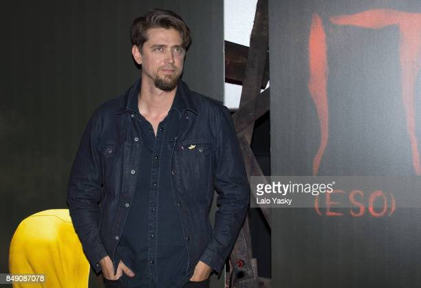Director Andy Muschietti attends a press conference for 'It' at the Cinemark Palermo on September 18 2017 in Buenos Aires Argentina