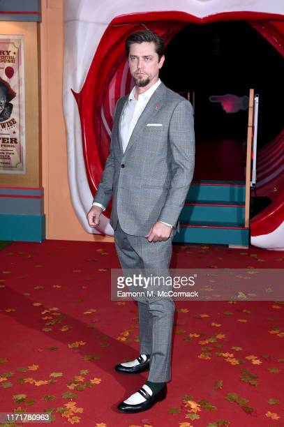 Director Andy Muschietti attends the IT Chapter Two European Premiere at The Vaults on September 02 2019 in London England