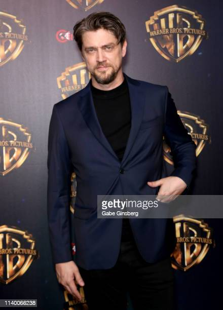 Director Andy Muschietti attends Warner Bros Pictures The Big Picture exclusive presentation during CinemaCon at The Colosseum at Caesars Palace on...