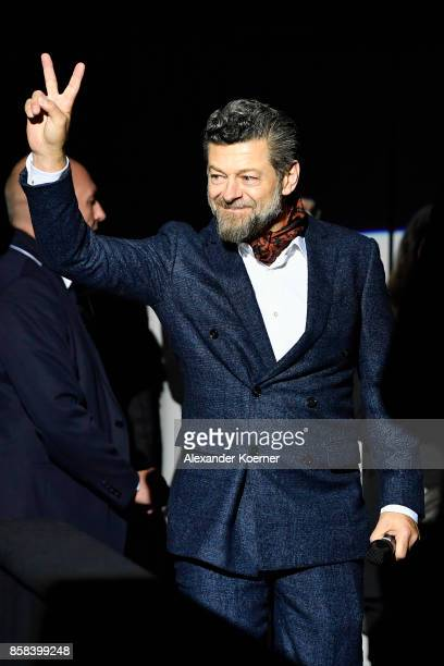 Director Andy Serkis attends the 'Breathe' premiere at the 13th Zurich Film Festival on October 6 2017 in Zurich Switzerland The Zurich Film Festival...