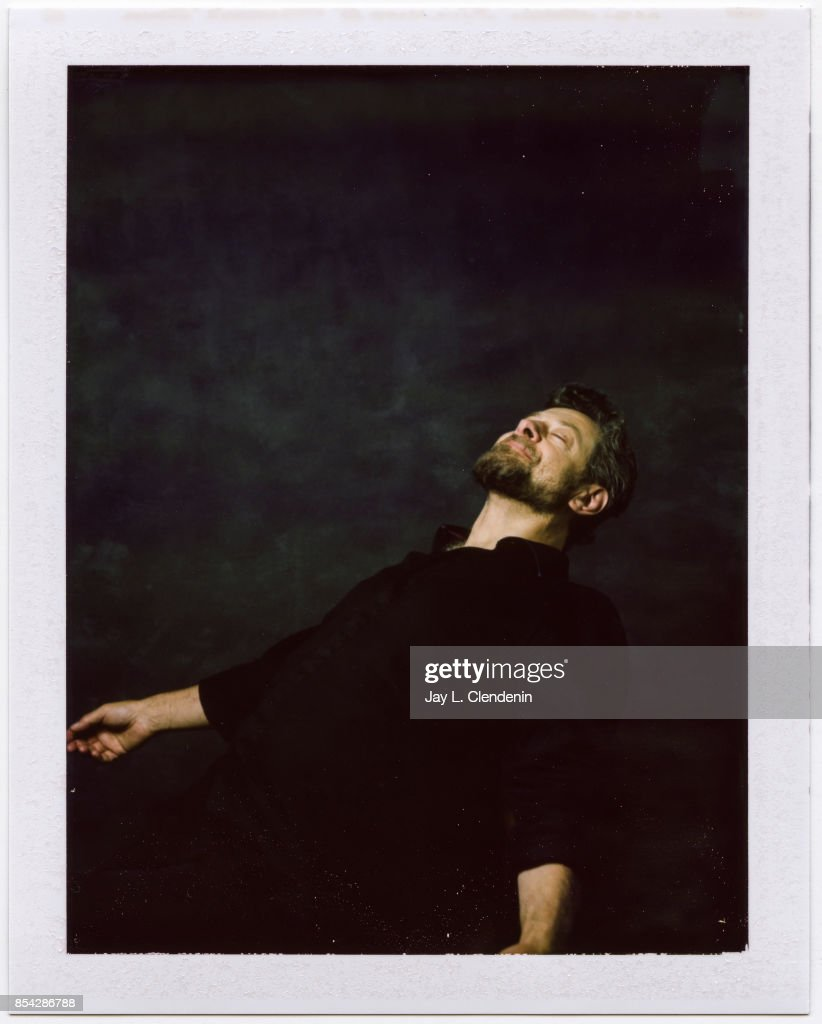 Director Andy Serkis from the film, 'Breathe,' is photographed on polaroid film at the L.A. Times HQ at the 42nd Toronto International Film Festival, in Toronto, Ontario, Canada, on September 12, 2017.