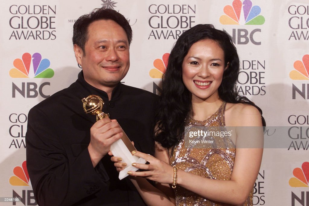 58th Annual Golden Globe Awards - Pressroom : News Photo
