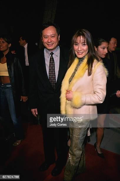 Director Ang Lee and Michelle Yeoh arrive at the Crouching Tiger Hidden Dragon premiere