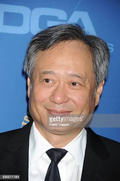 Director Ang Lee arrives at the 65th Annual Directors Guild Awards held at the Ray Dolby Ballroom at Hollywood Highland