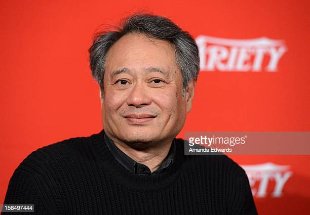 Director Ang Lee attends the 2012 Variety Screening Series of Life Of Pi at Mann Chinese 6 on November 15 2012 in Los Angeles California