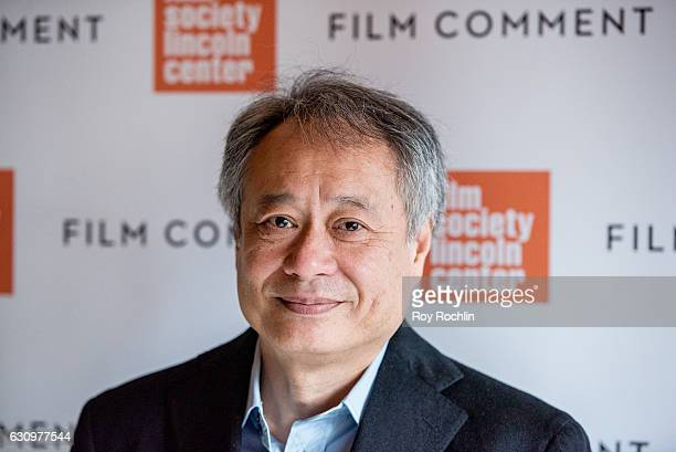Director Ang Lee attends the 2016 Film Society Of Lincoln Center and Film comment luncheon at Scarpetta on January 4 2017 in New York City