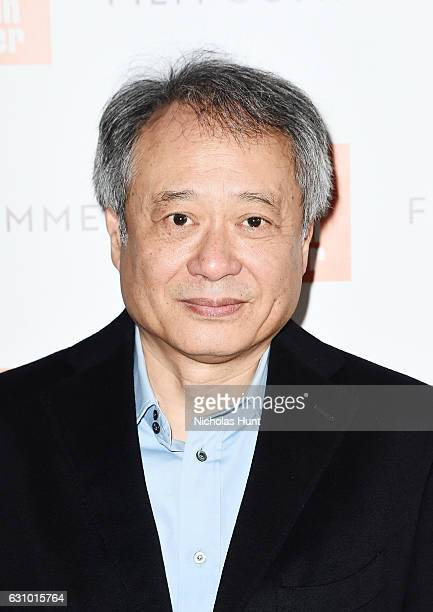 Director Ang Lee attends the 2016 Film Society Of Lincoln Center Film Comment Luncheon at Scarpetta on January 4 2017 in New York City