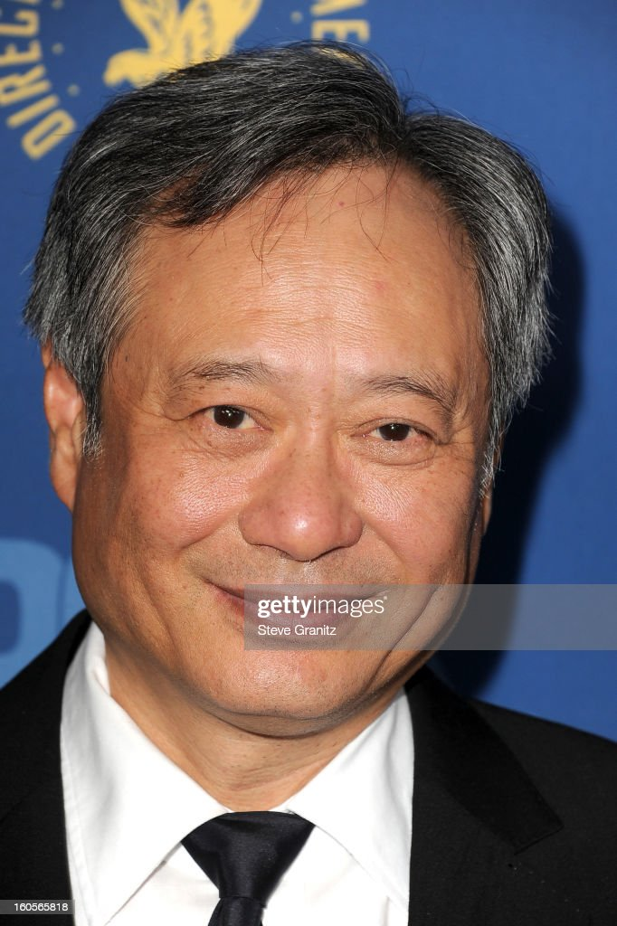 Director Ang Lee attends the 65th Annual Directors Guild Of America Awards at The Ray Dolby Ballroom at Hollywood & Highland Center on February 2, 2013 in Hollywood, California.