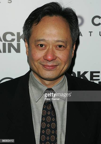 Director Ang Lee attends the Focus Features Premiere of Brokeback Mountain at the Loews Theater on December 6 2005 in New York City