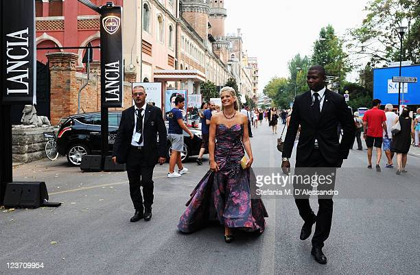 Director Angela Ismailos arrive ahead of the Wild Salome premiere during the 68th Venice Film Festival at Palazzo del Cinema on September 4 2011 in...