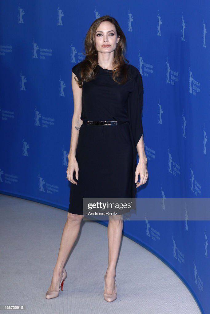 """""""In The Land Of Blood And Honey"""" Photocall - 62nd Berlinale International Film Festival Photocall - 62nd Berlinale International Film Festival : News Photo"""
